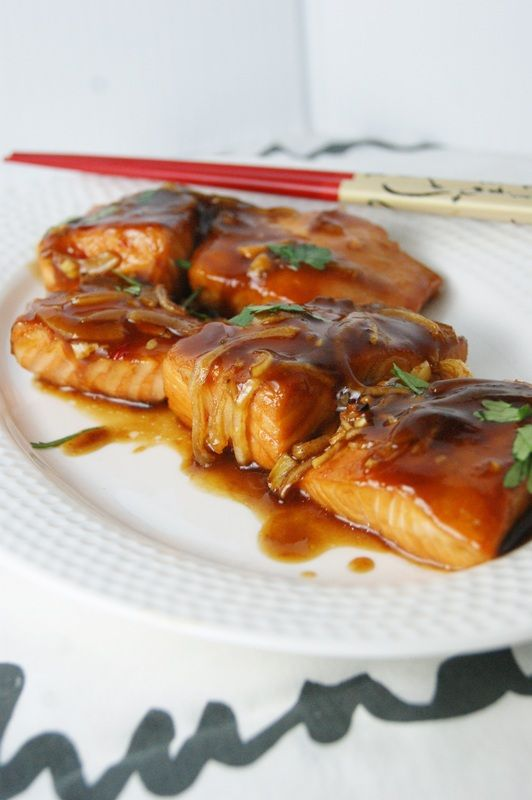 Roasted Salmon Teiryaki-My Food Passion