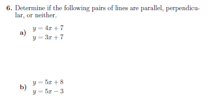 Straight lines worksheet (with solutions): A worksheet on ...
