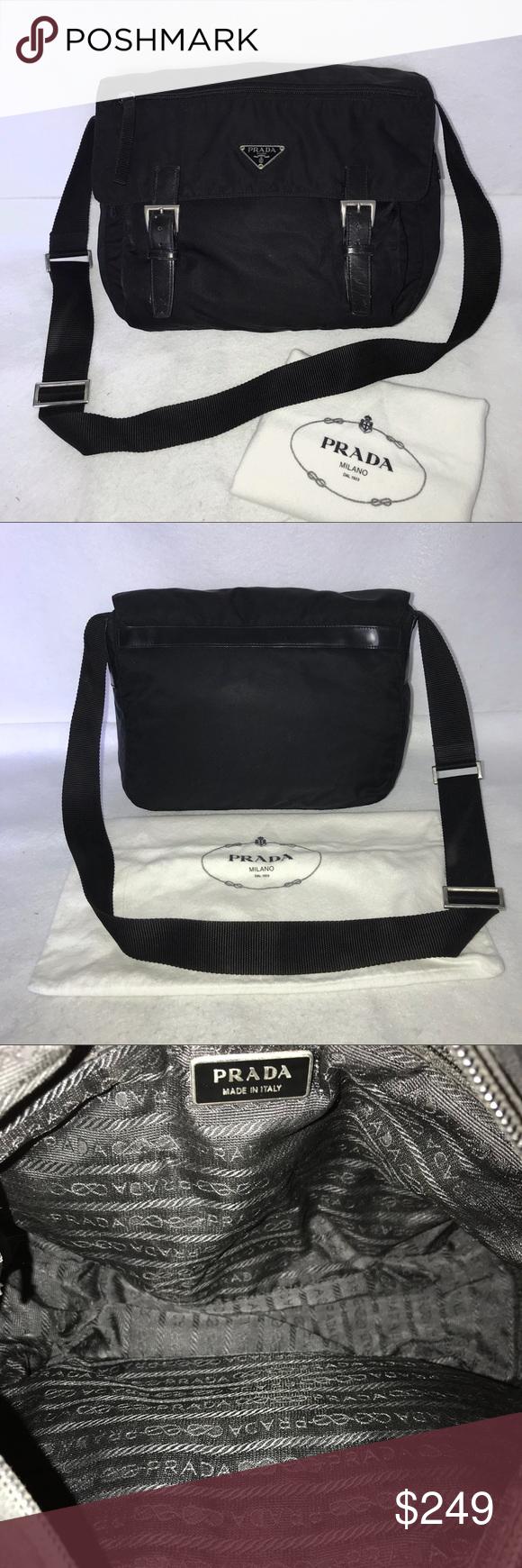 🔥ONE DAY SALE🔥Prada BT0953 Tessuto Messenger Bag 👉TRADE VALUE   400👈 9030e0fd0d