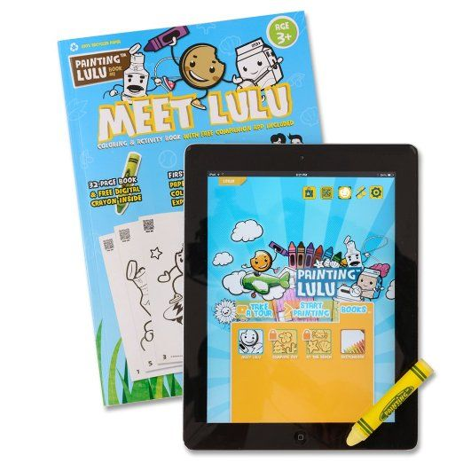 Meet Lulu Coloring Book App And Stylus Review