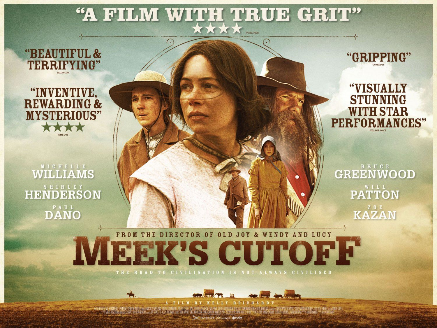 Chaos and destruction a film review of meeks cutoff