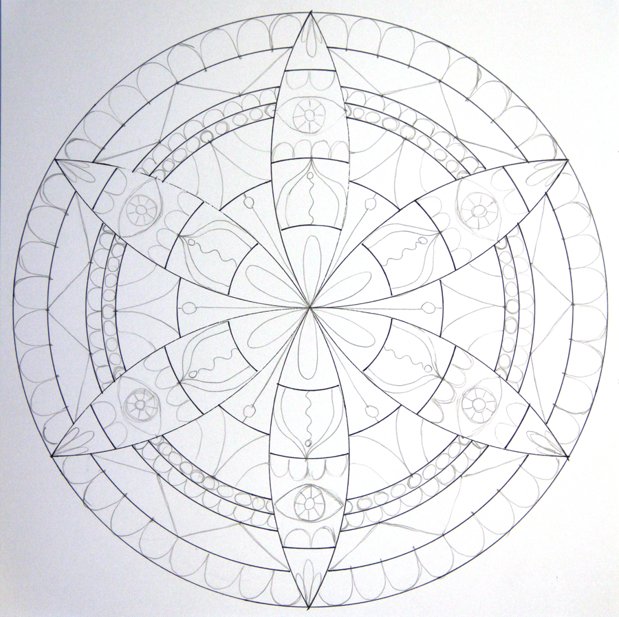 Learn How Easy It Is To Draw A Petal Mandala With Compass Barb Owen Shows You The Easiest Way Make Your Own Magic Pencil Pens GO