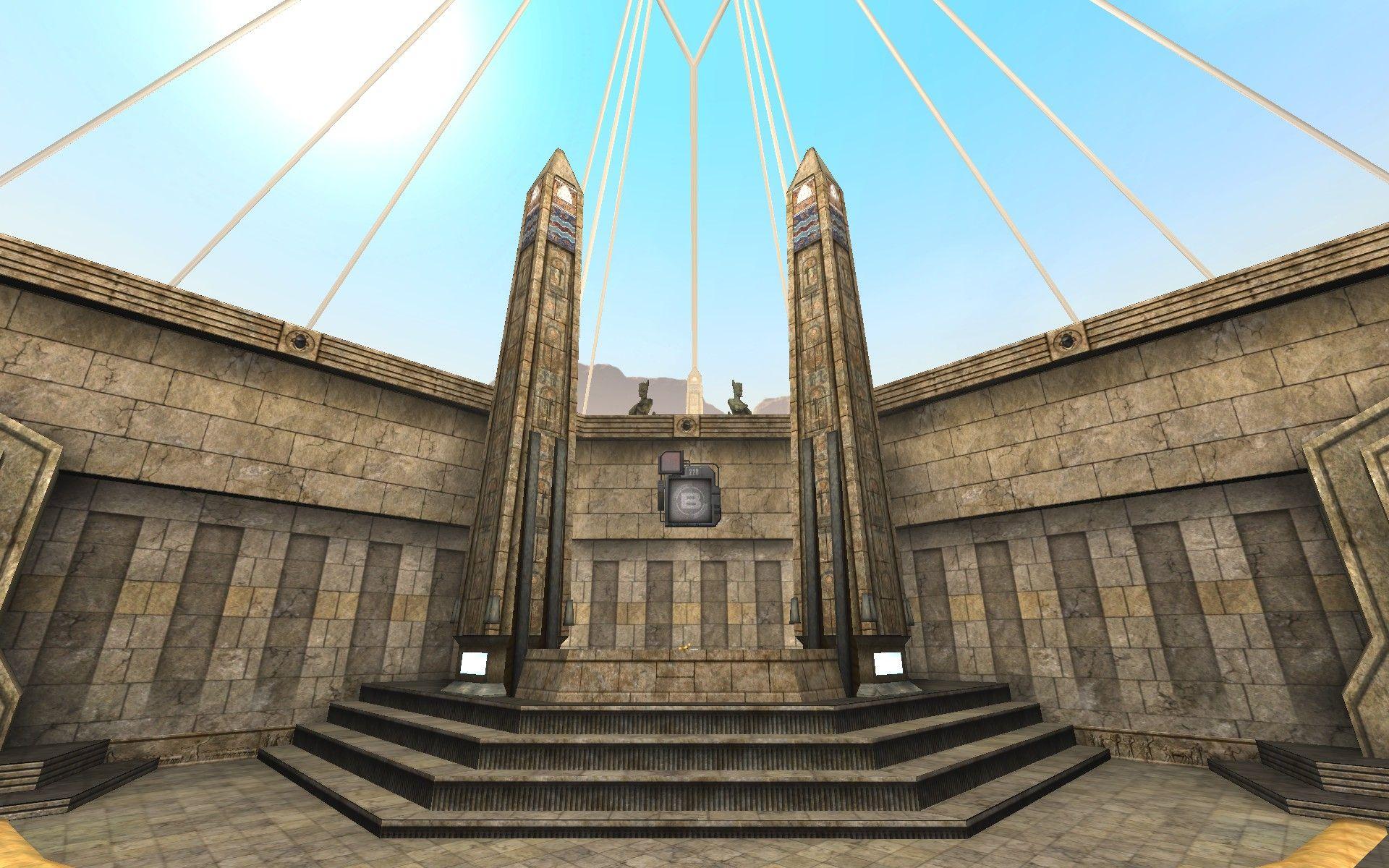 Unreal Tournament 2004. Map DOM-Suntemple