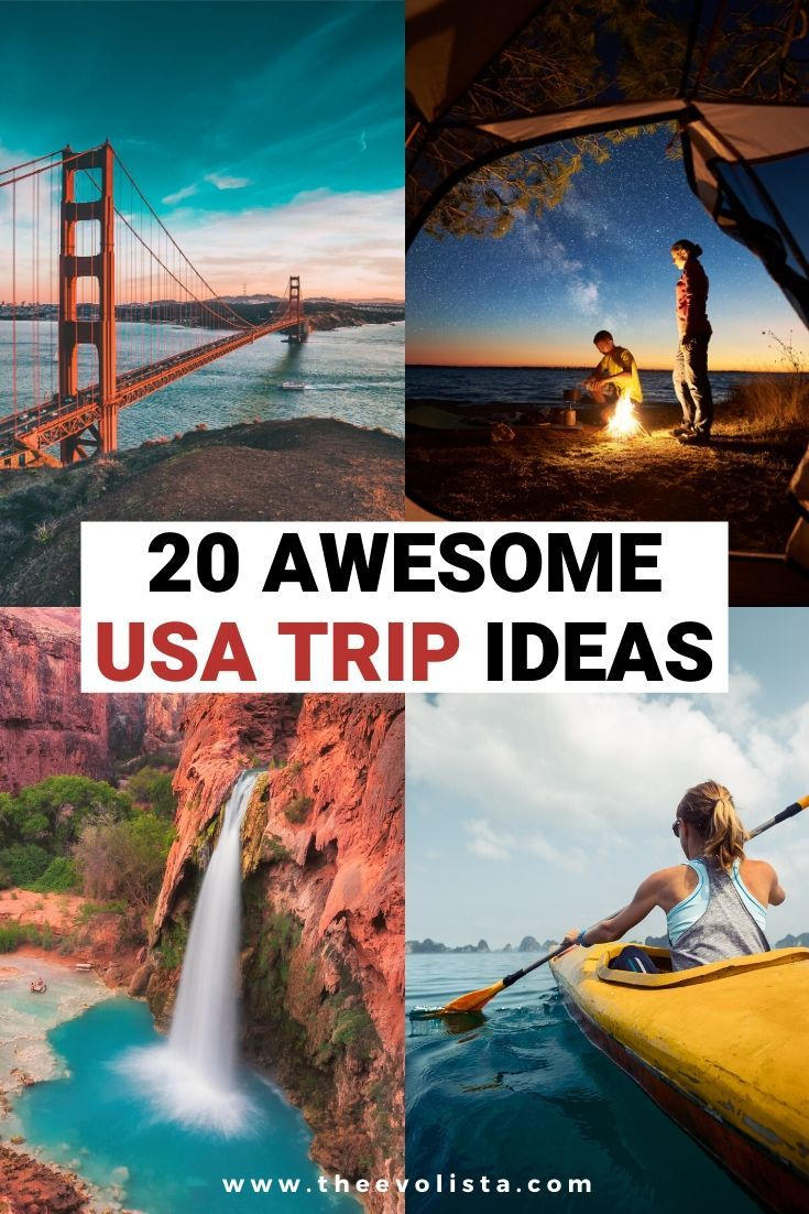 20 Amazing USA Trip Ideas that you can plan last minute. USA Travel | USA Road Trips | Best Places to visit in the USA | Bucket List USA Trips | How to plan an awesome Staycation | Unique places to visit in the USA | Southwest road trip | Pacific Northwest | East Coast Road Trip | American landmarks | Best USA national parks  #usa #arizona #nevada #california #florida #roadtrip