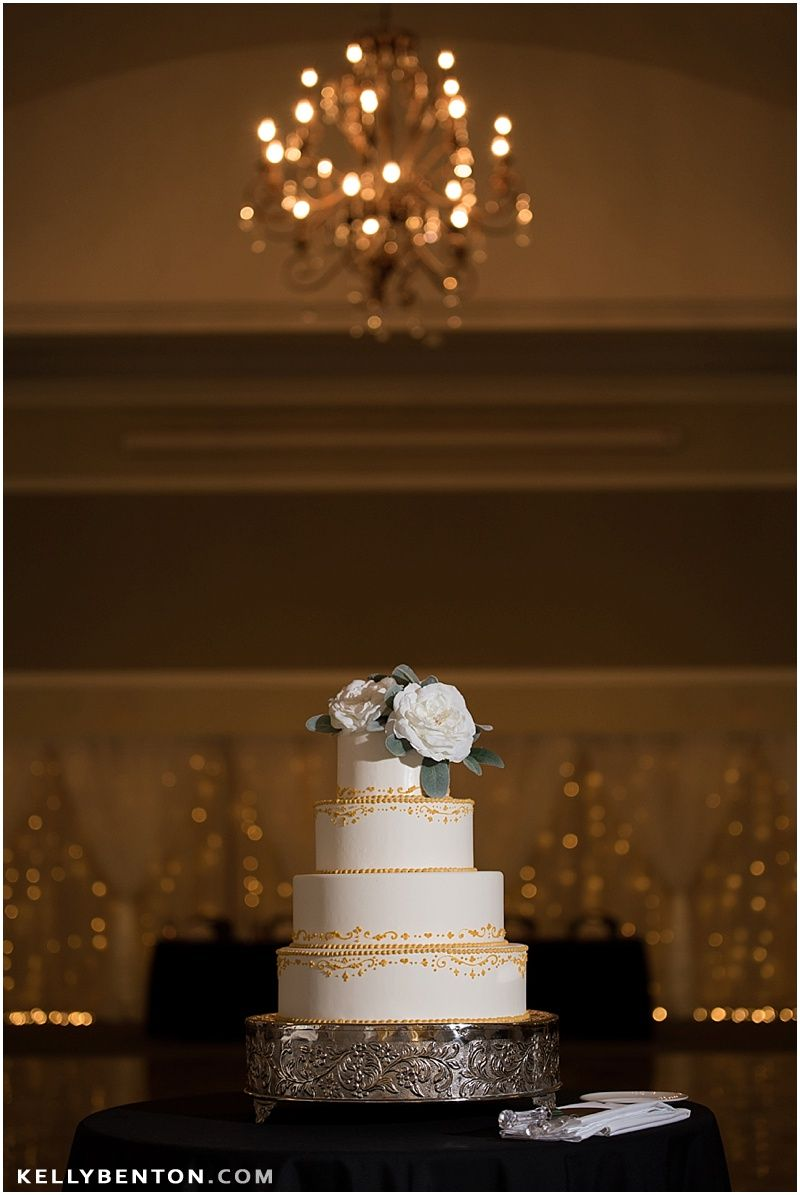 Cake by Dreams to Reality | Megan & Dustin\'s Wedding at Bel Air ...