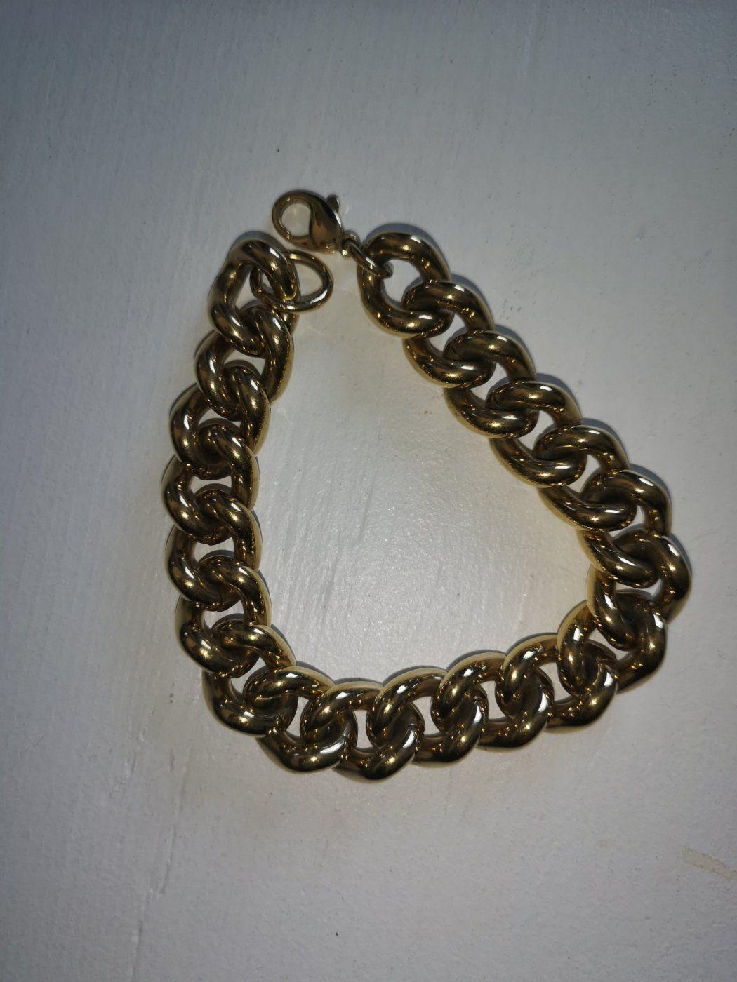 Goldf. Armband 25 cm | Mädchenflohmarkt