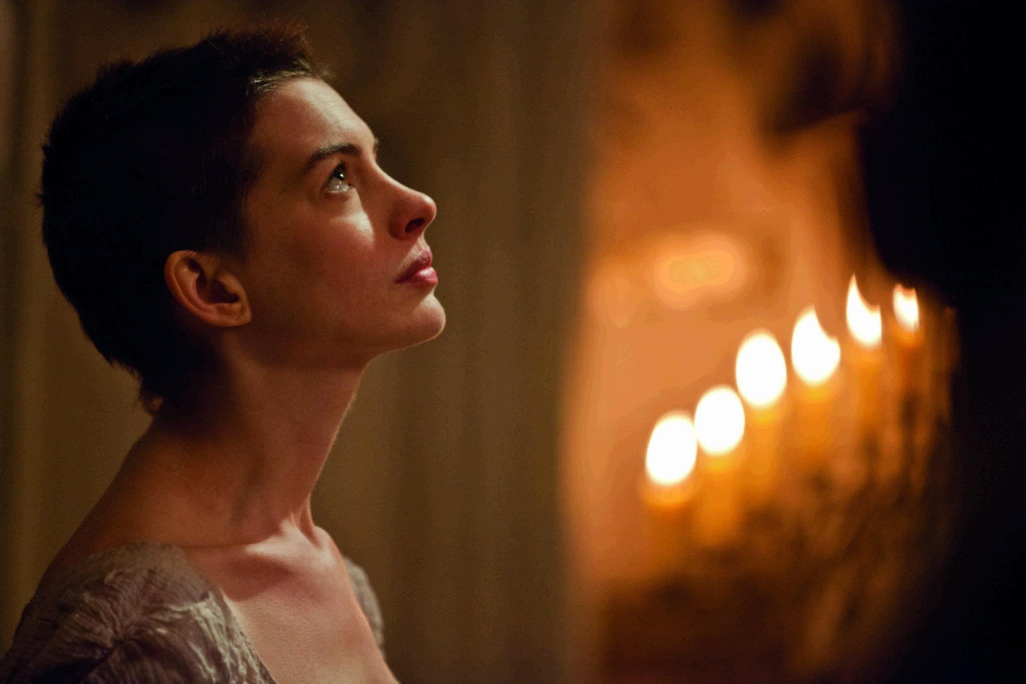 Anne Hathaway Fantine Lesmisfilm Theatre Lesmis Musicals