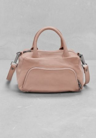 And Other Stories | Leather Mini-Bag | Beige