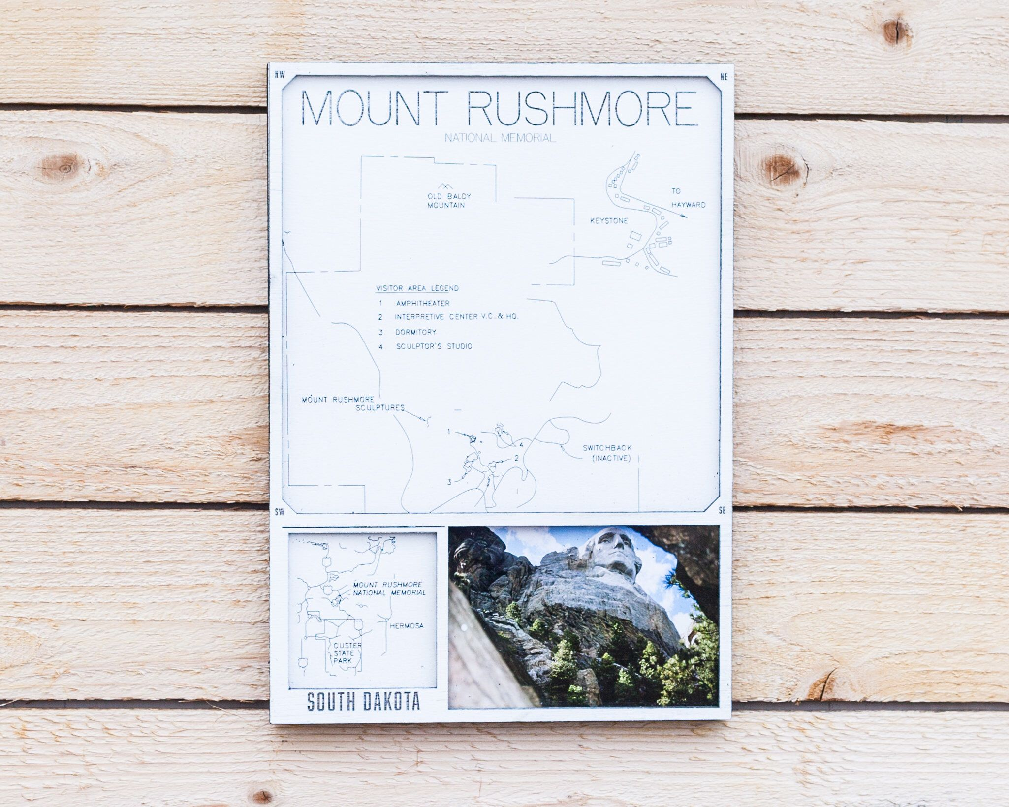 Passport Mount Rushmore Photo Frame With Engraved Map 10 X 14 United States Bucket List Hike Camp Trail Kayak Family Vacation Kayaking Traveling By Yourself Mount Rushmore