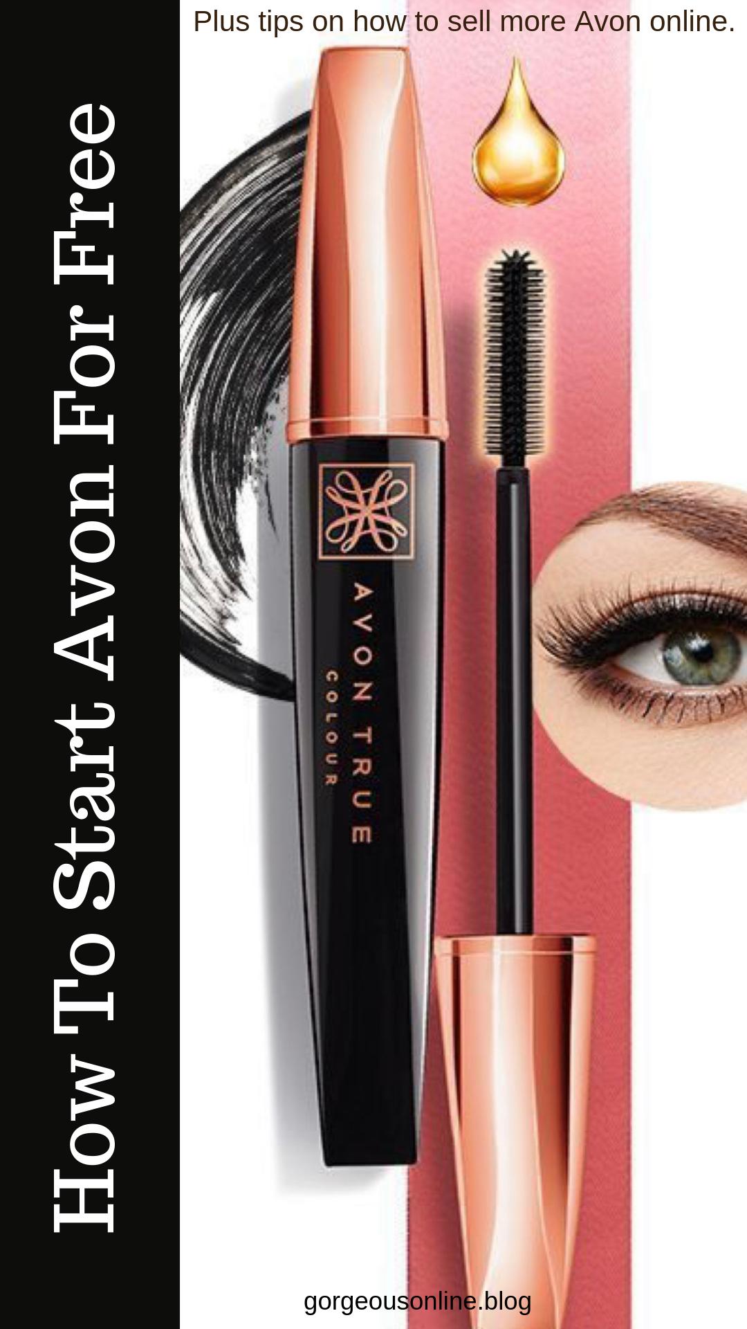 7 Ways To Start Avon For Free Sell makeup online, Avon
