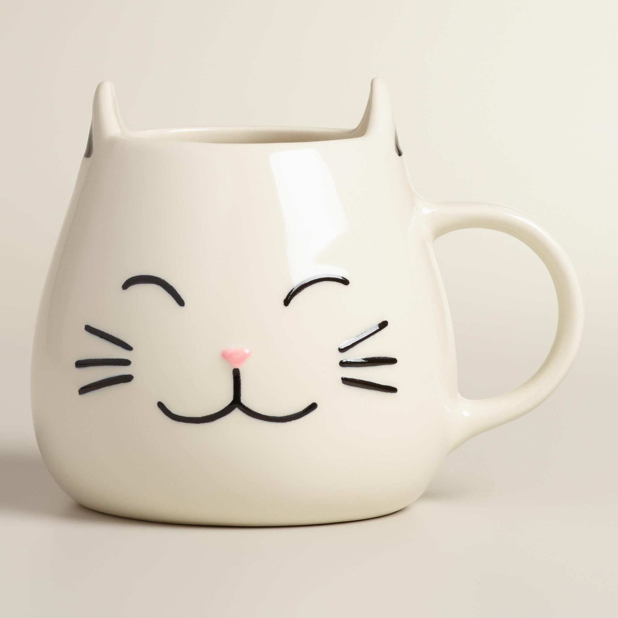 Cat Mug, Set of 2 | World Market