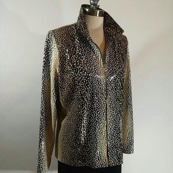Misook Designer Jacket With Images Flattering Fashion Jacket Design Clothes Design