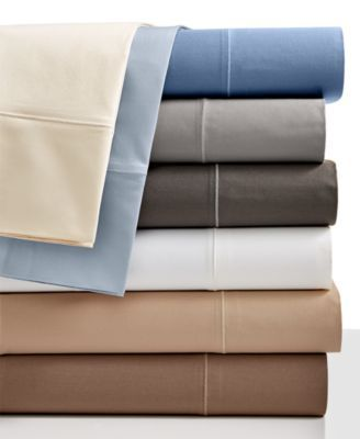 Hotel Collection 525 Thread Count Cotton Twin Sheet Set Reviews Sheets Pillowcases Bed Bath Macy S King Sheet Sets Hotel Collection Bedding Sheet Sets Queen