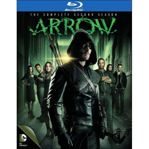 Arrow The Complete Second Season Blu Ray 4 Discs Arrow Tv