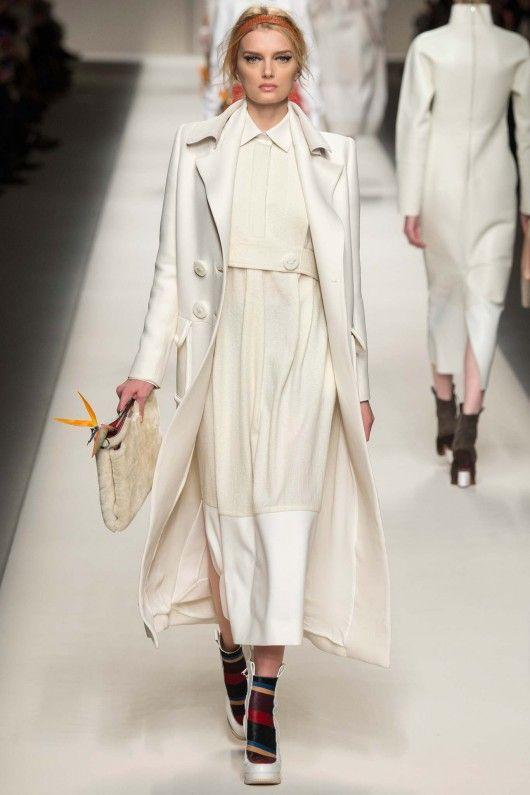 Fendi Herfstwinter 2015 16 4 Shows Fashion Catwalk Fotos