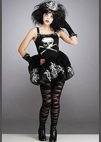 Are costume goth halloween teen