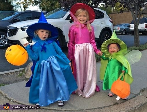 Flora, Fauna and Merryweather - Halloween Costume Contest at Costume