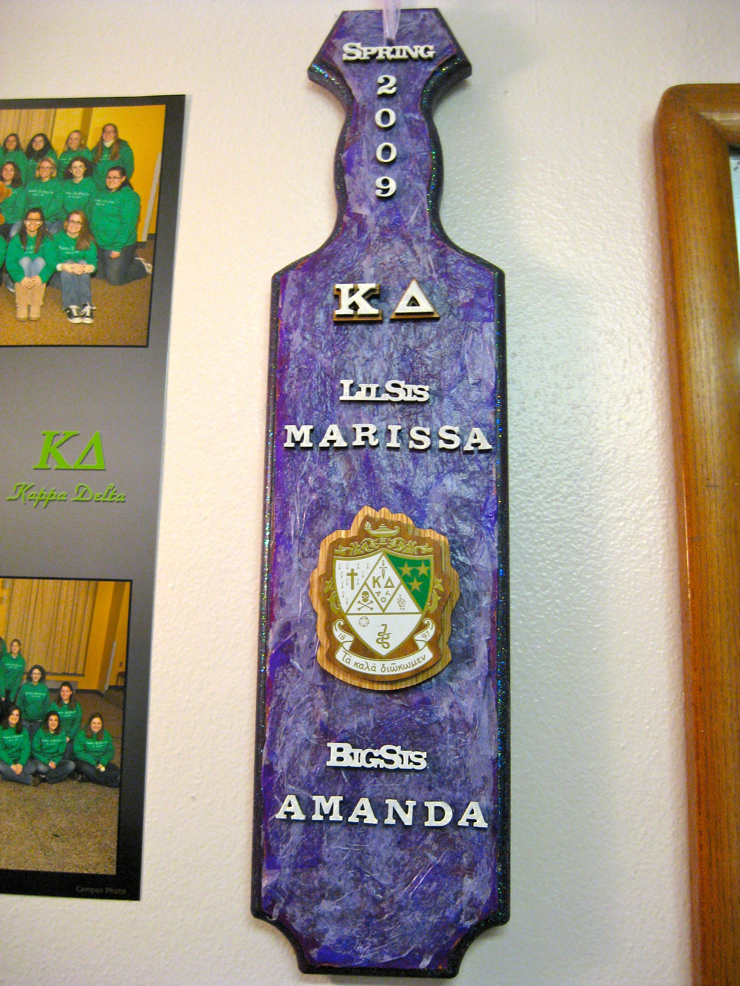 love the crest and the color/texture | Paddles | Pinterest ...