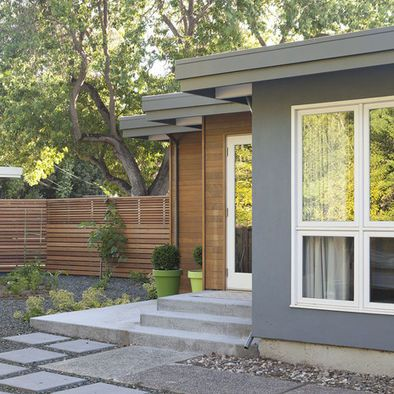 Modern Home Exterior Paints Colors Brown Gray Design Pictures Remodel Decor And Ideas Page 15 Mid Century Modern Exterior Modern Remodel Modern Exterior