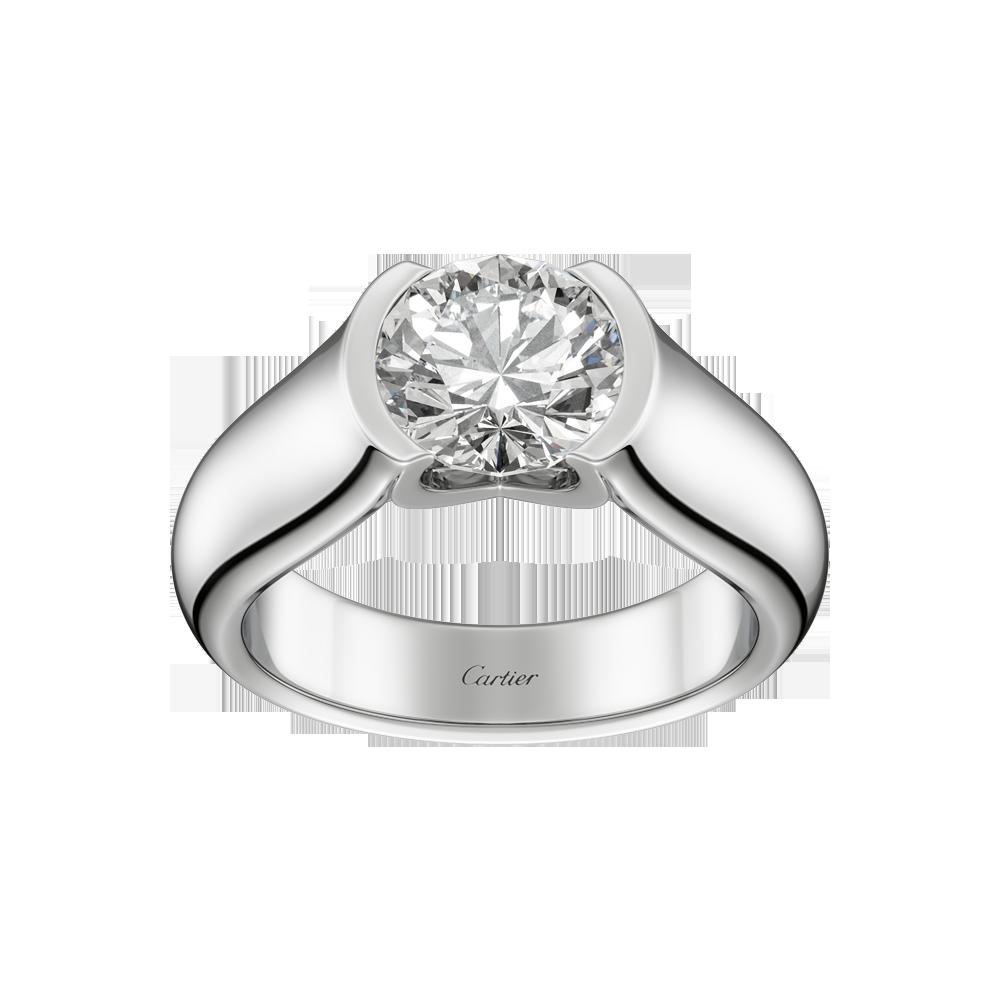 Solitaire C De Cartier Anelli Di Fidanzamento Cartier Anelli Di Fidanzamento Unici Anelli Con Diamanti