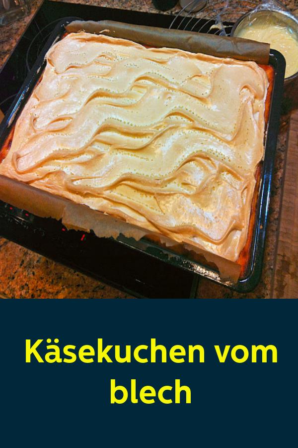 Kasekuchen Vom Blech 1k Rezepte Kuchen Rezepte