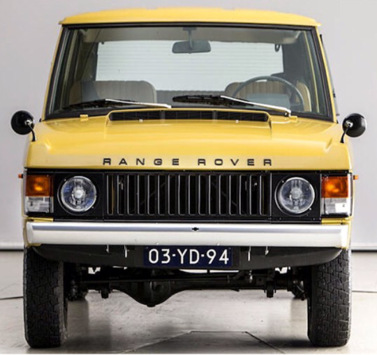 Classic Land Rover Parts: RANGE ROVER CLASSIC