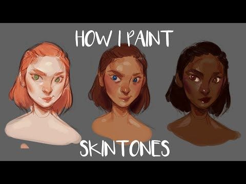 How To Color Your Lineart In Krita Youtube Digital Painting Tutorials Skin Color Palette Digital Painting Photoshop