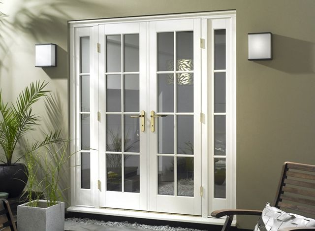 Improve Your Home With The Right French Doors French Doors With Sidelights Exterior Doors With Sidelights French Doors Exterior
