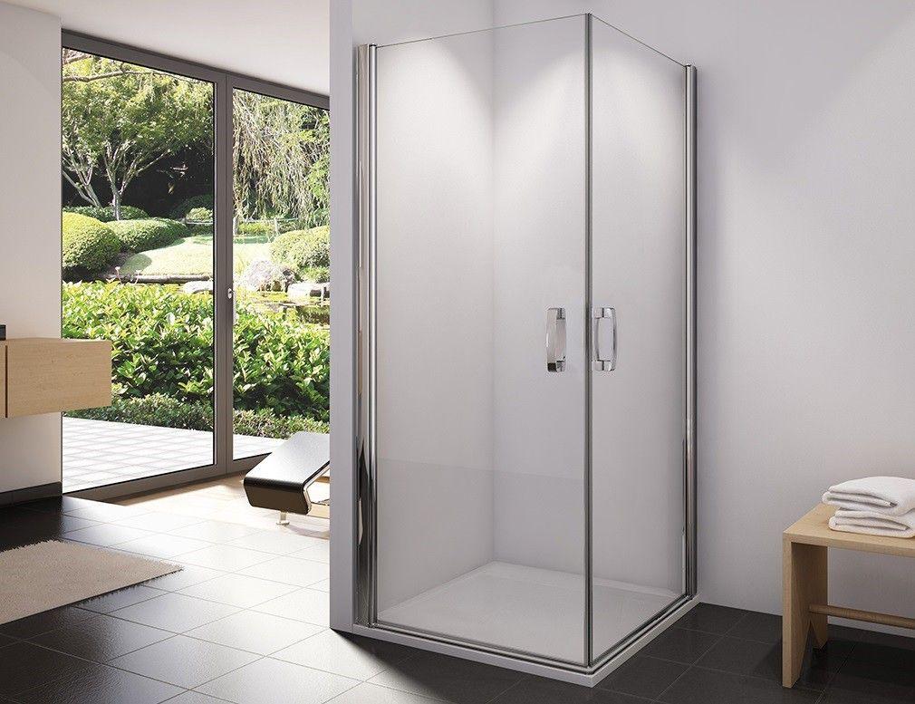 dusche eckeinstieg 80 x 75 x 195 cm pendelt r duschkabine eckeinstieg pinterest t ren. Black Bedroom Furniture Sets. Home Design Ideas