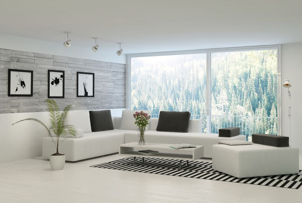70 Stylish Modern Living Room Ideas Photos Modern White Living