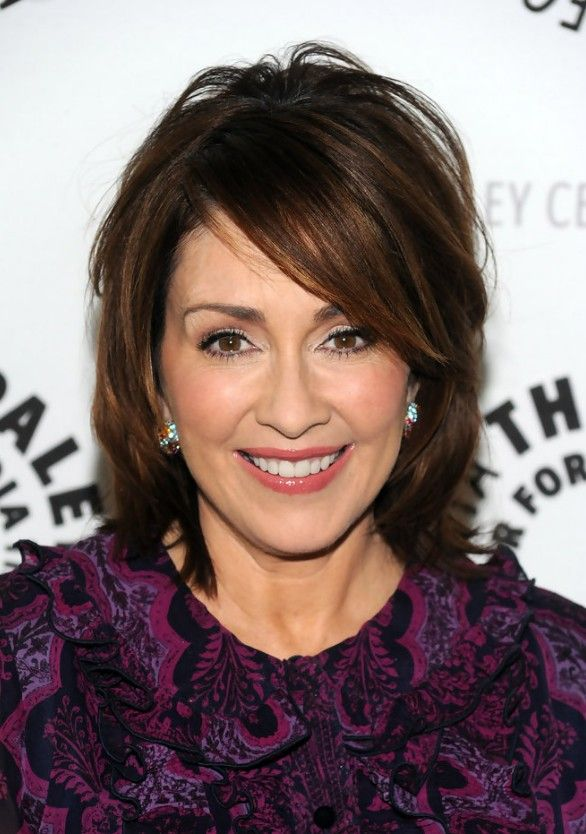 Patricia Heaton Short Bob Hairstyle For Women Over 50s In 2019