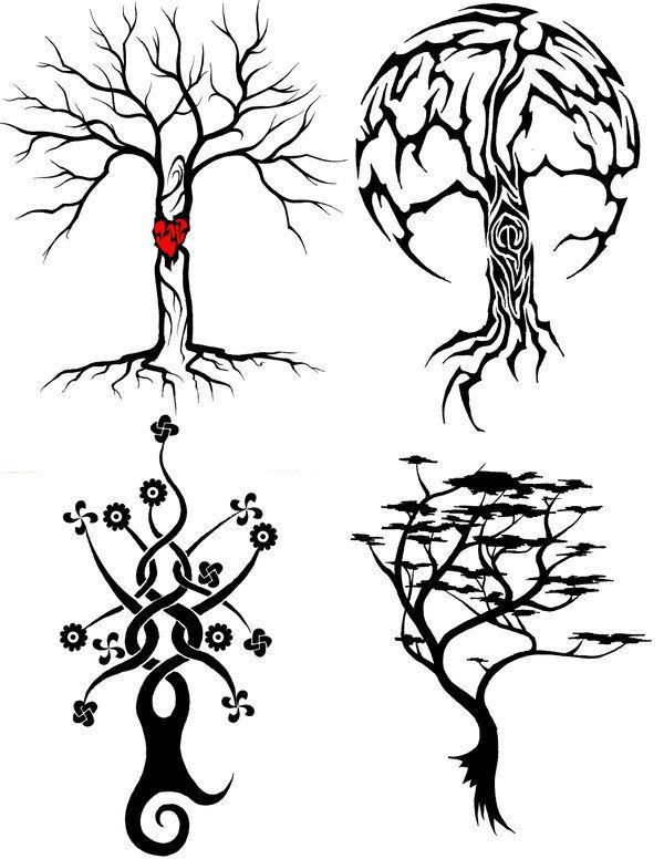 3f65a8e04 Tribal Moon Tattoo, Tribal Tattoos, Tribal Drawings, Celtic Cross Tattoos, Tree  Tattoo
