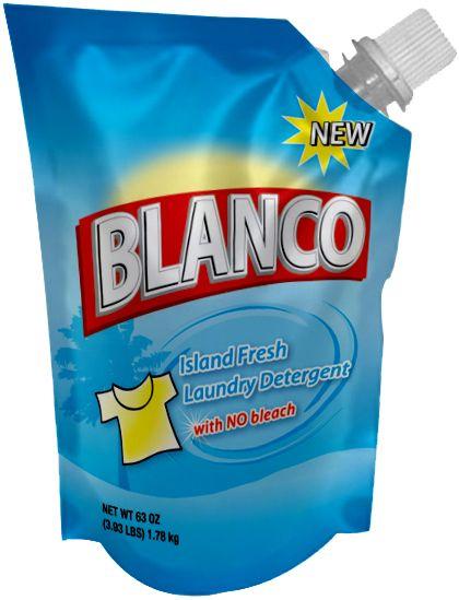Blanco Spout Pouch Bolsa De Papel Bolsas Produtos De Limpeza