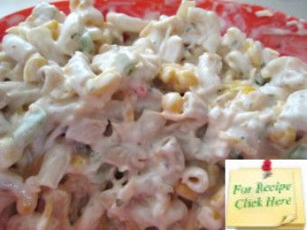 Recipes for cold chicken pasta salad