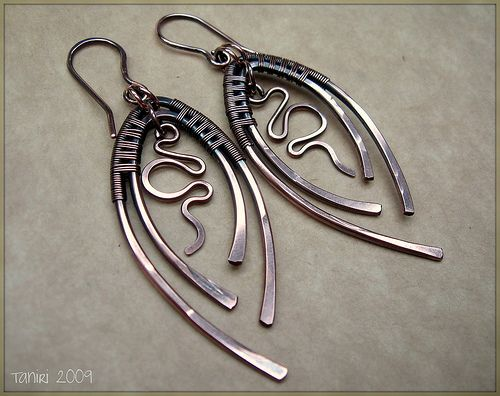 Leaves - Copper Wire Jewelers