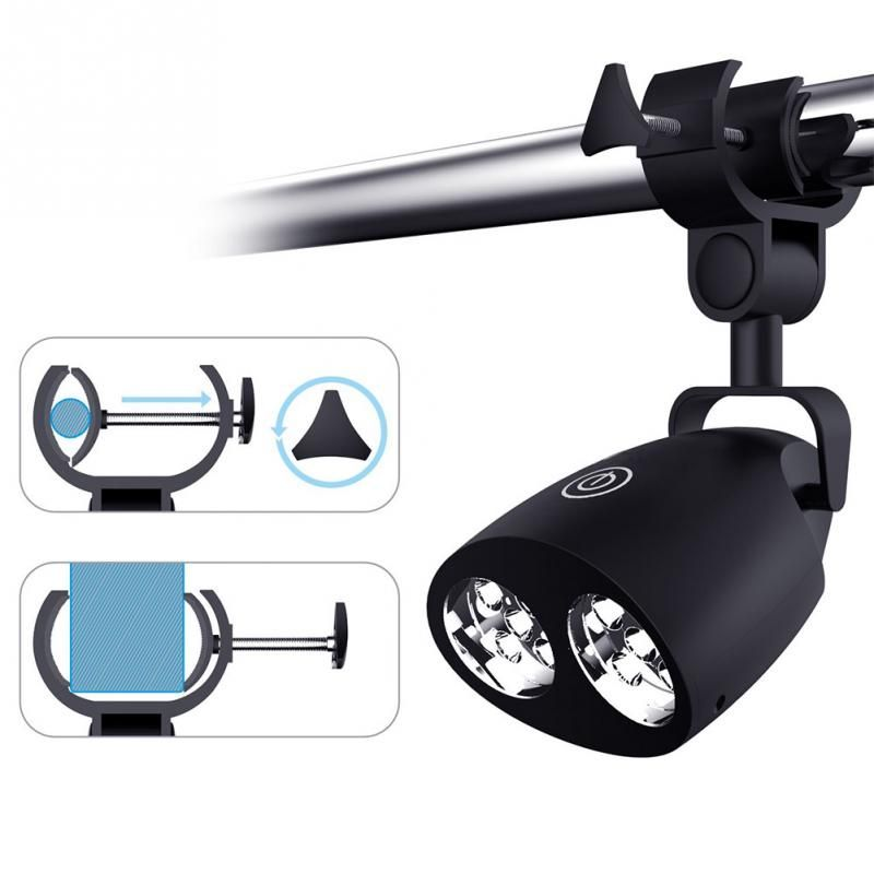BBQ LED Clip Light For Night Barbecue Grilling Adjustable Chefs Kitchen