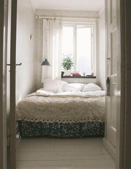 Die besten 25 Kleine Schlafzimmer Ideen auf Pinterest  Winziges Schlafzimmer Design kleines