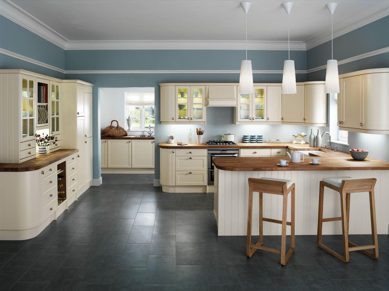 Shaker Cream Cream Kitchen Units Kitchen Design Styles Kitchen Layout