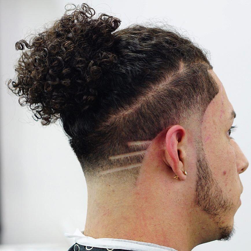 30++ Man bun with curly hair ideas in 2021