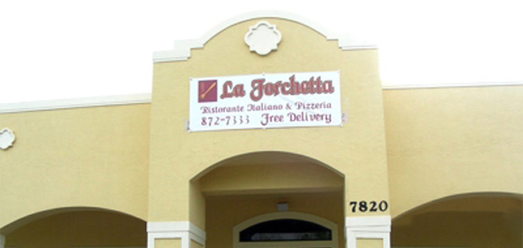 La Forchetta Italian Restaurant 7820 Southwest Lost River Road Stuart Fl 34997 772