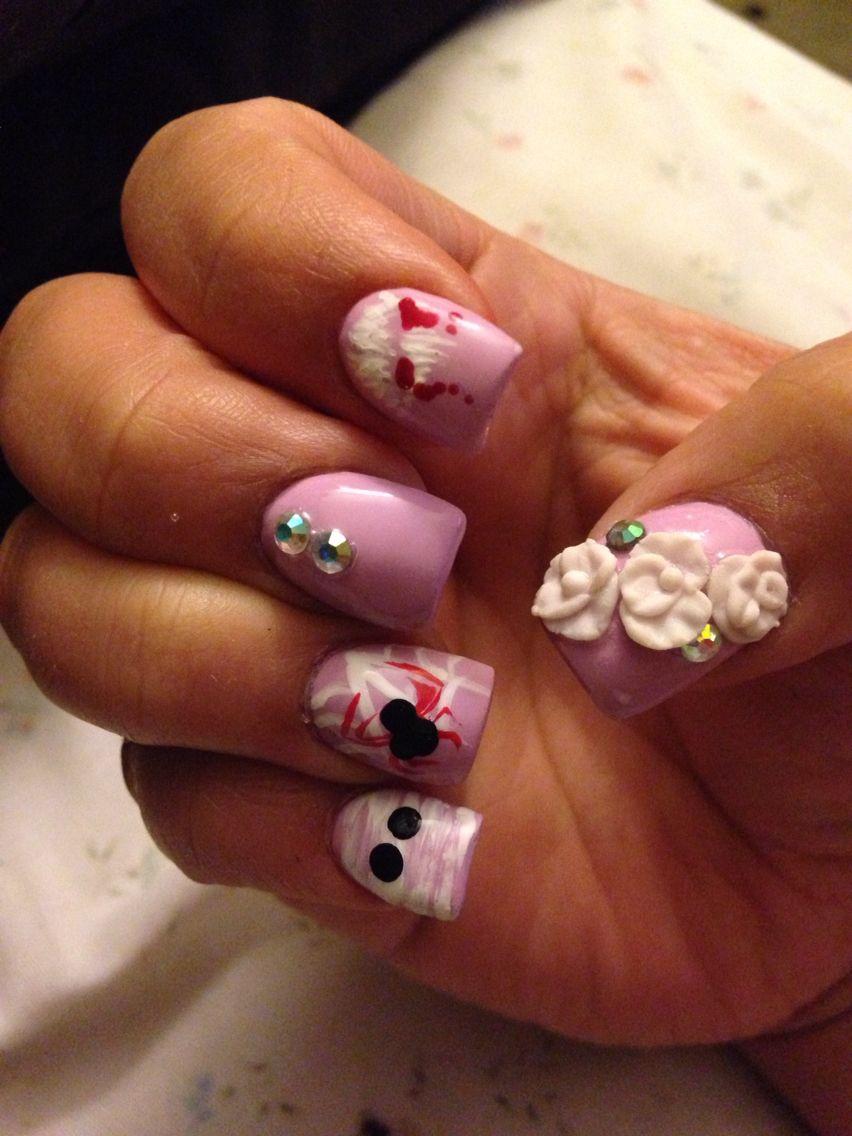 Halloween nails | Nails, Halloween nails, Coffin nails