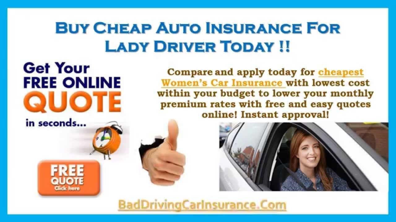 Cheap Car Insurance For Women Under 25 Car Insurance Cheap Car