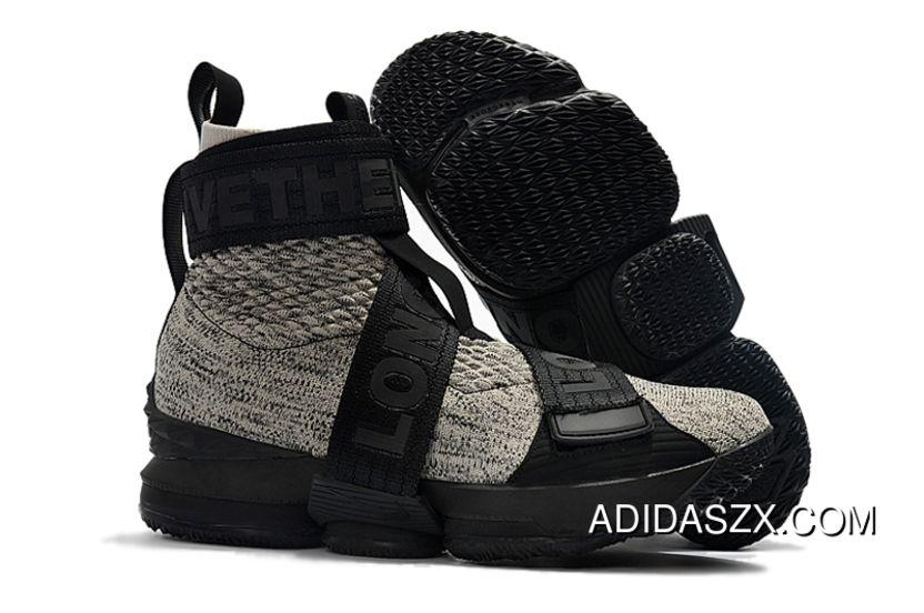 46ed62afd50 Kith X Nike LeBron 15 Lifestyle Concrete New Release