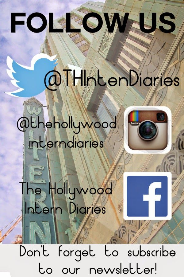 The Best Twitter You Will Ever Follow ~ Hollywood Intern Diaries