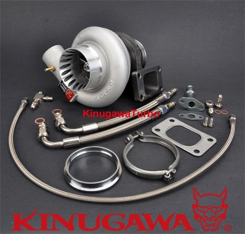 """Kinugawa Billet Turbocharger 3"""" AntiSurge TD06SL218G w"""
