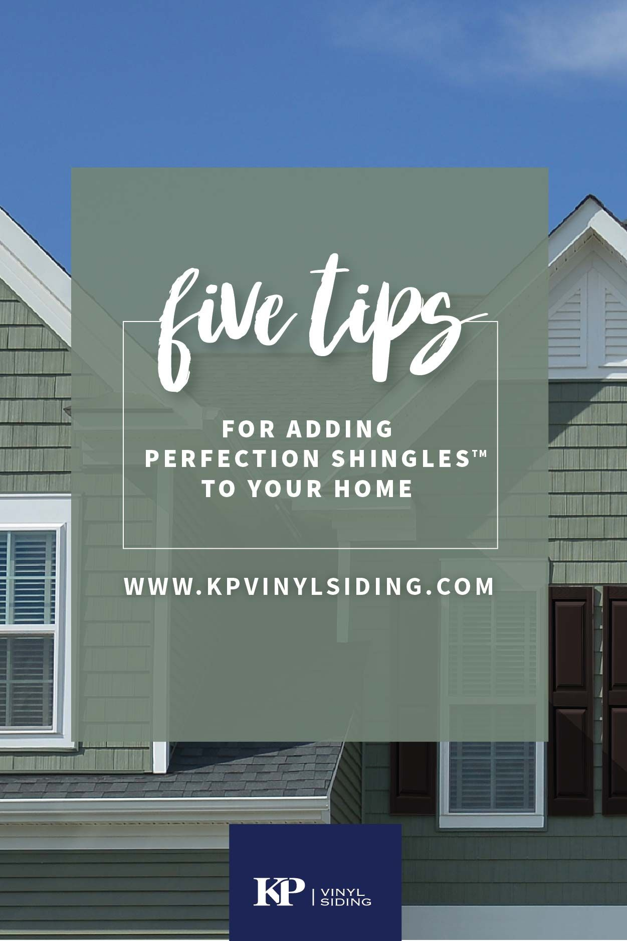 Best 5 Tips For Adding Perfection Shingles™ To Your Home Vinyl Siding Vinyl Siding Colors 400 x 300