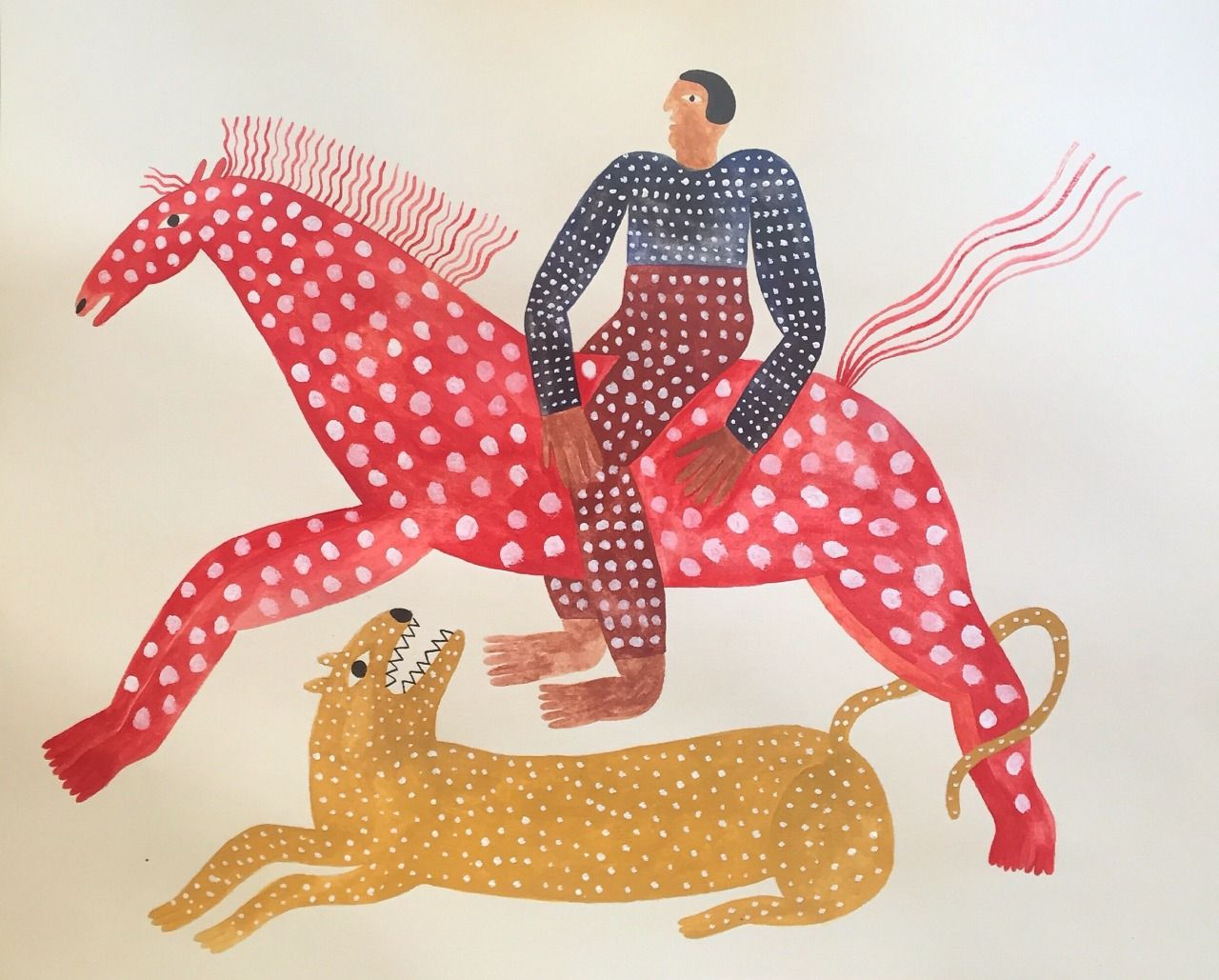 Audrey Helen Weber Horse Illustration Theatre Illustration Childrens Art