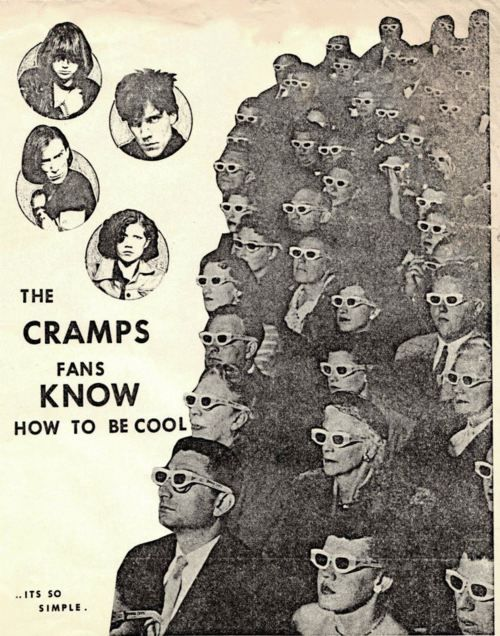Cramps Fans Punk Poster The Cramps Band Posters