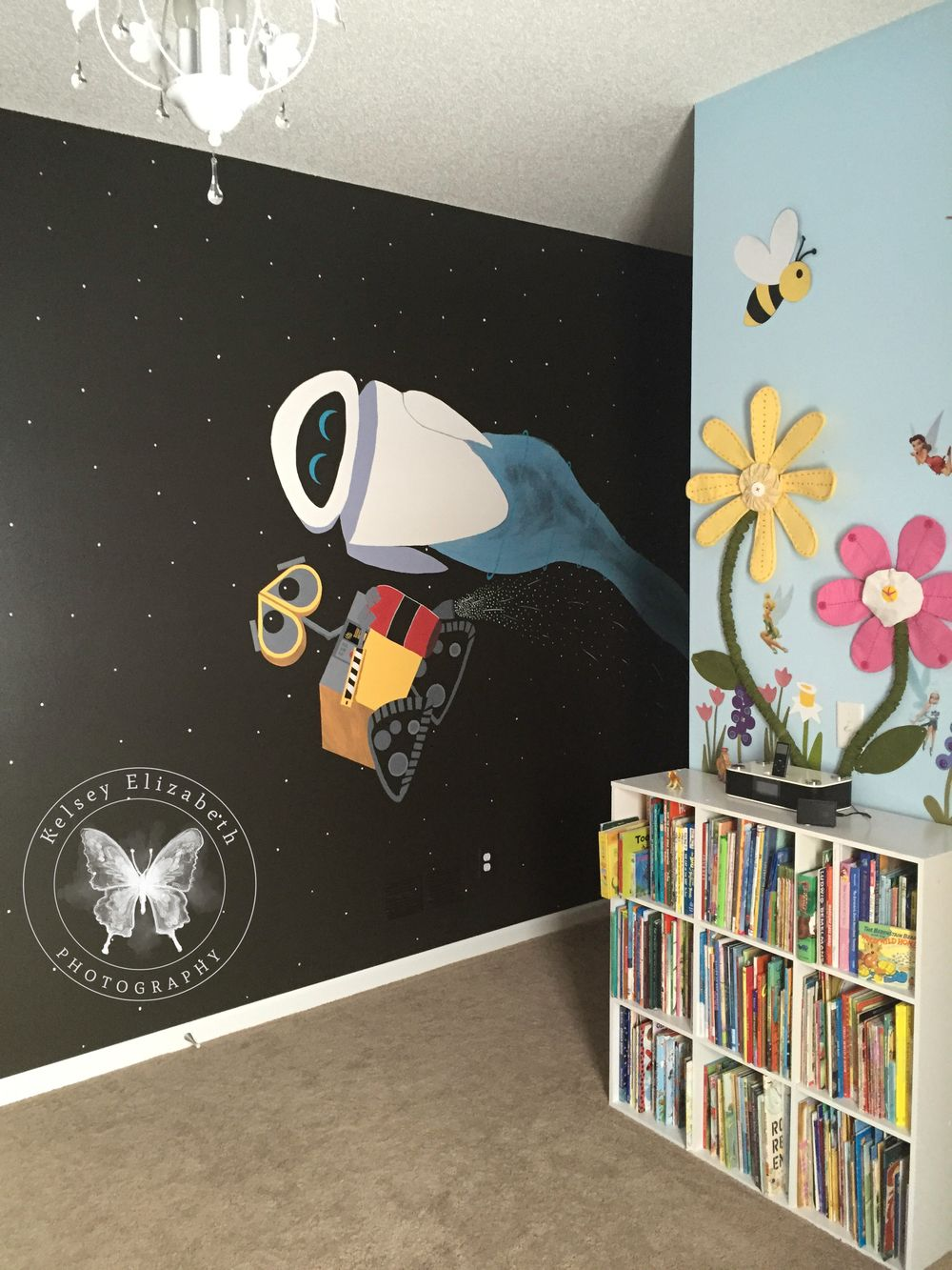 Pixar Wall E Mural Wall E Bedroom Disney Bedroom Disney Mural Children 39 S Bedroom Kelsey