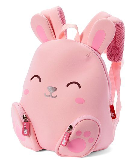 4296b8ac0847 Nohoo Pink Rabbit Backpack | zulily | Kawaii | Pink rabbit ...